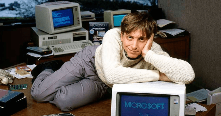 Bill Gates, father of modern PCs