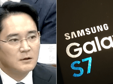 Samsung VP arrested