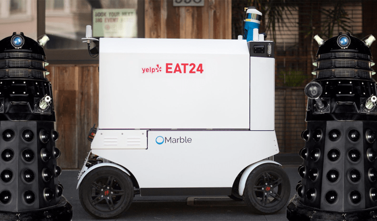 Food-Delivering Robots Are a Thing Now, Bringing Us One Step Closer to the Robot Uprising