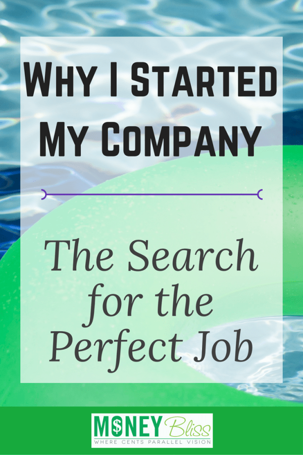 Why I Started My Company – the Search for the Perfect Job