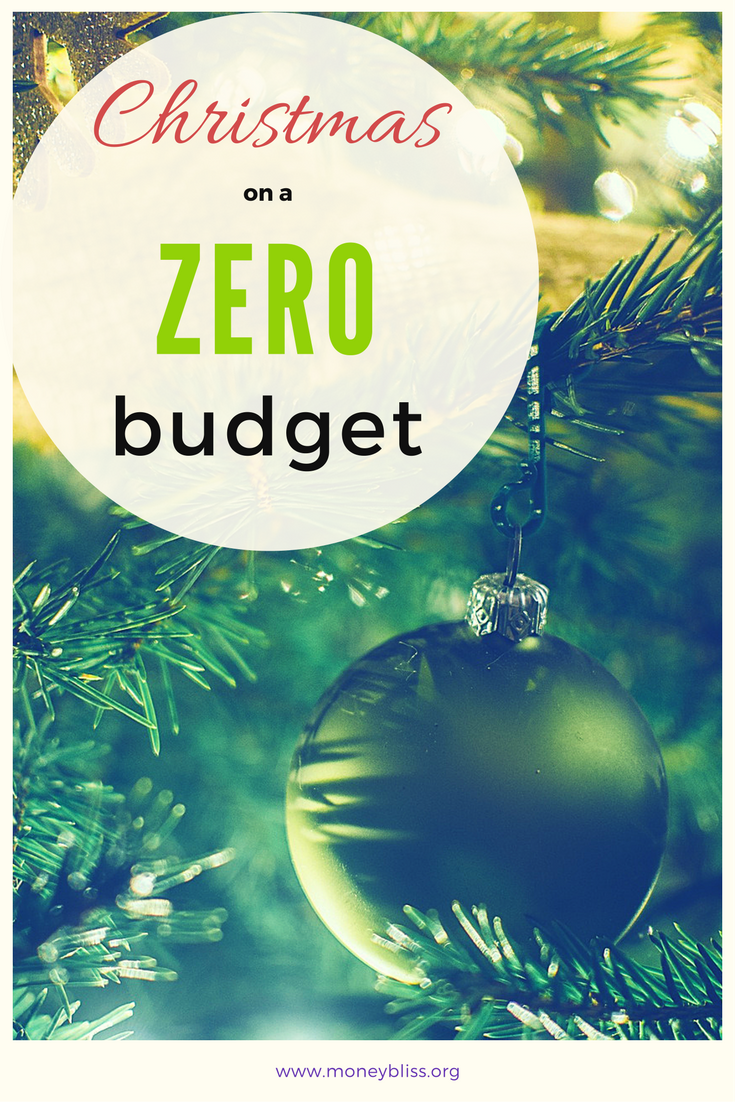 How to Spend ZERO at Christmas in a Materialistic Society | Money Bliss