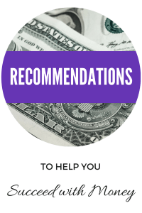 Money Recommendations. Help you succeed with money. Money Resources. Get help with debt, save money, grocery budget.