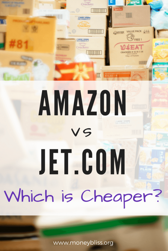 Which retailer will save you money? Is it Amazon Prime or Jet.com? Learn the frugal money saving tips for online shopping. Price comparison of Amazon vs Jet. How to get two-day shipping without paying membership fees? #onlineshopping #amazon #jet #frugal #moneysavingtips #freeshipping