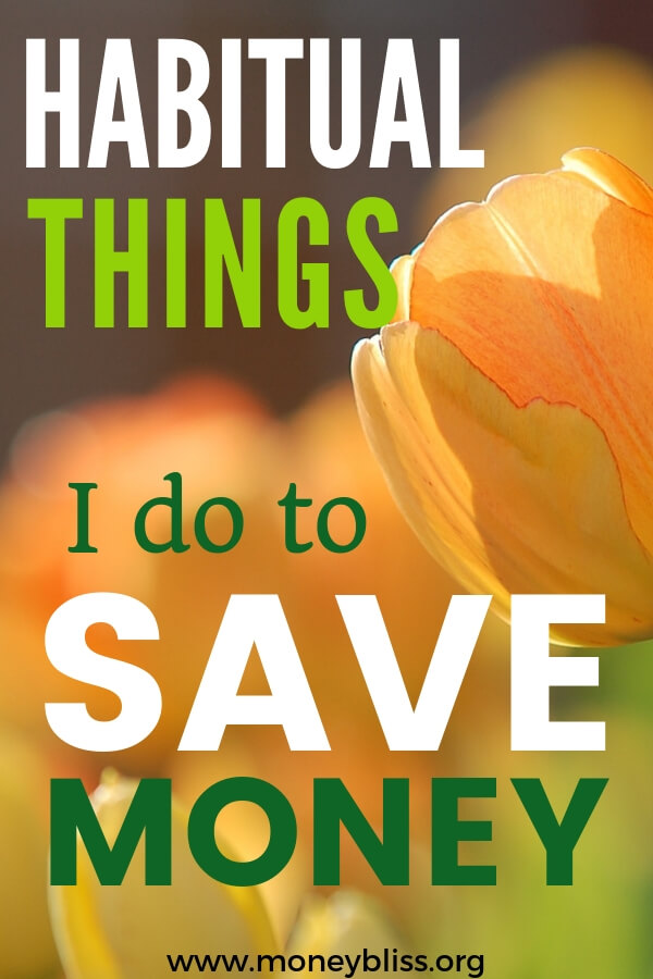 Learn what she does to save money each month and stop living paycheck to paycheck. Get ahead with your personal finances. #savemoney #moneybliss