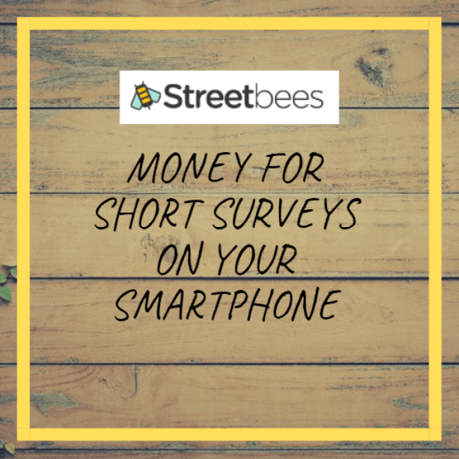 Streetbees app review - Money for Short Surveys on your Smartphone