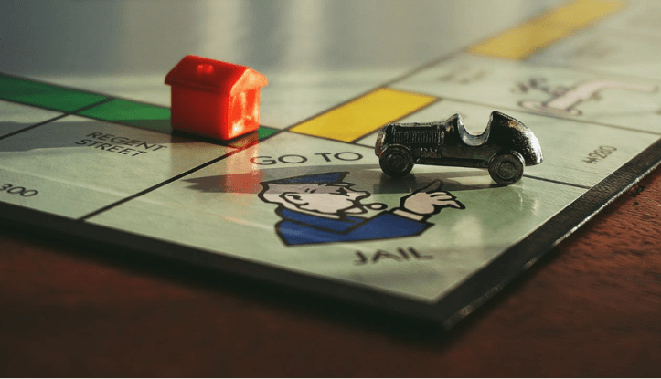 """old dusty """"Monopoly"""""""