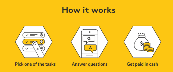 How does Streetbees app work