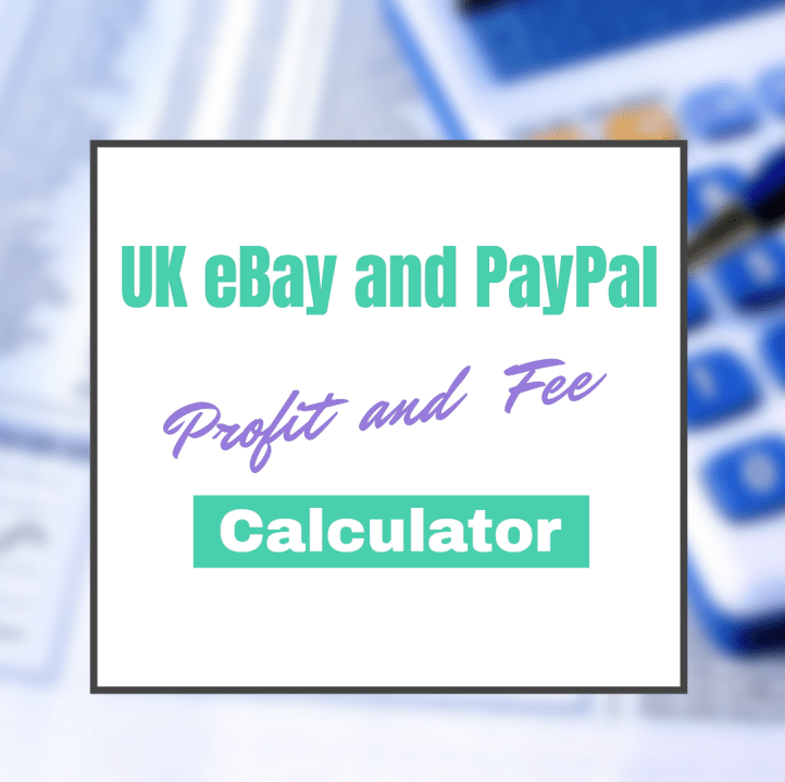 UK eBay and PayPal - Profit / Fee Calculator