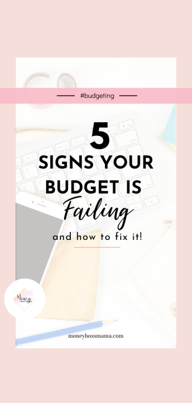 what to do when your budget is failing