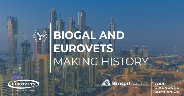 Biogal and Eurovets are entering into a strategic partnership, following the recent peace treaty between Israel and the UAE. The two global leaders in the field of veterinary diagnostics will combine their collective resources and expertise to improve animal welfare.
