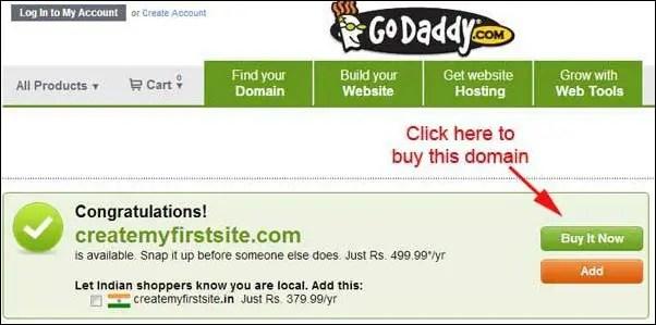 buy domain
