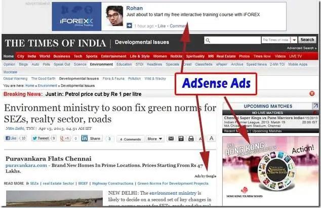 adsense ads demo