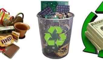 25 Things You Can Recycle to Make Money