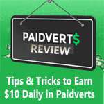 Paidverts Review – How to Earn $10 Daily with Paidverts