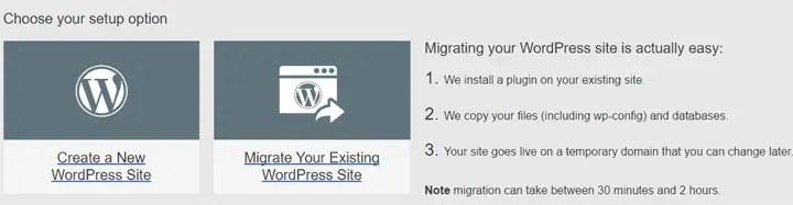 migrate wordpress site