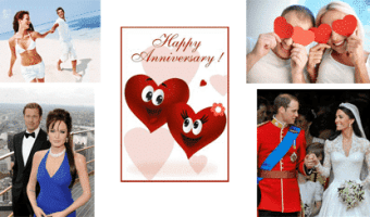 Wedding Anniversary Gift Ideas for 1st to 25th & 50th Anniversary