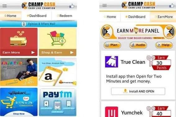 earn more champcash