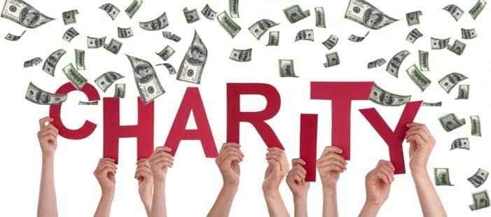 make money with charity