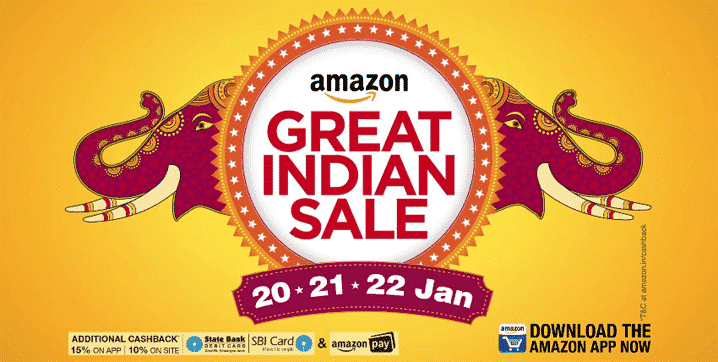 Amazon Great Indian Sale 2017 – Tips for More Discount