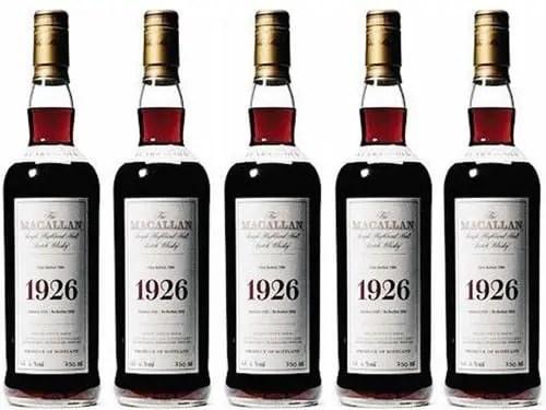 1926 Macallan Fine Rare Whiskey
