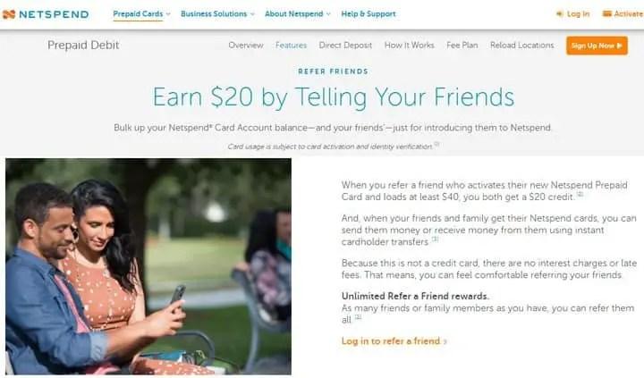 netspend free cash