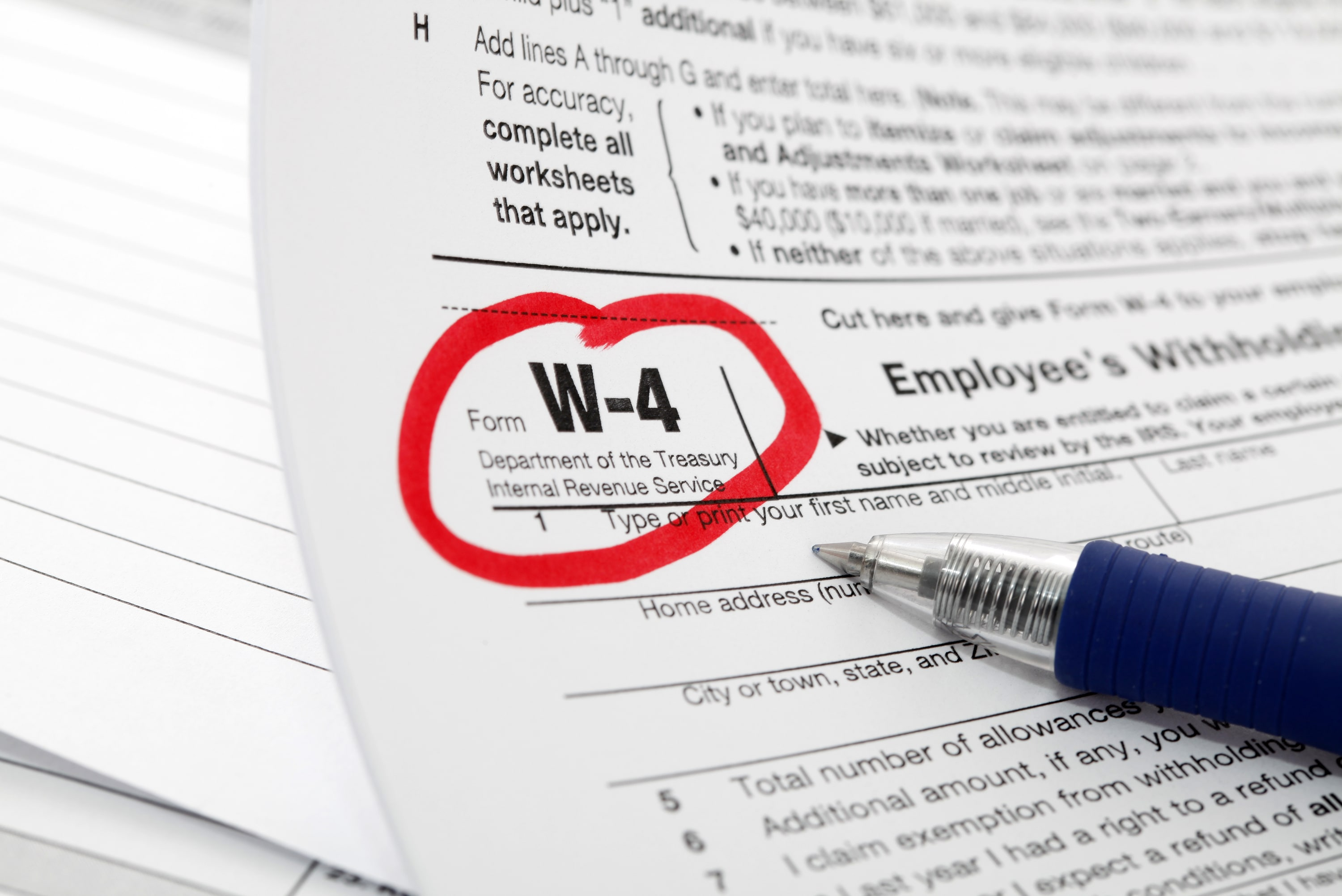 How To Adjust Your Federal Income Tax Withholding Allowances