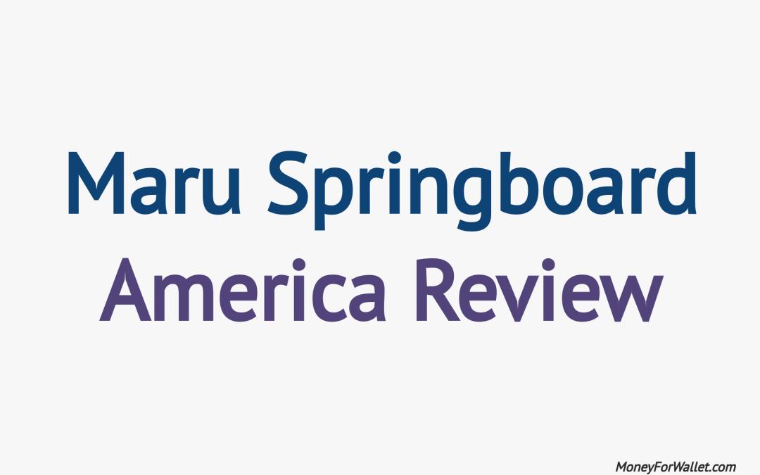 Maru Springboard America Review: Legit or Scam Survey Panel