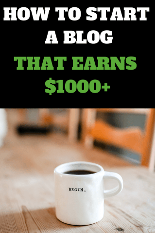 Consider this a handbook for how to start a blog that earns money! I wanted to write the step by step guide I wish I could have found.