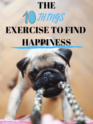 """The """"10 things exercise"""" is so simple but eye-opening! Do you spend your time and money doing things that make you happy?"""