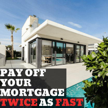 You do NOT need to double your mortgage payment to pay off your house twice as fast! Here's how