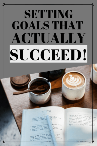 Does goal setting actually work? If two people have the same goal, why can one succeed while the other fails?? Changing how you set goals can be the secret to succeeding at them!