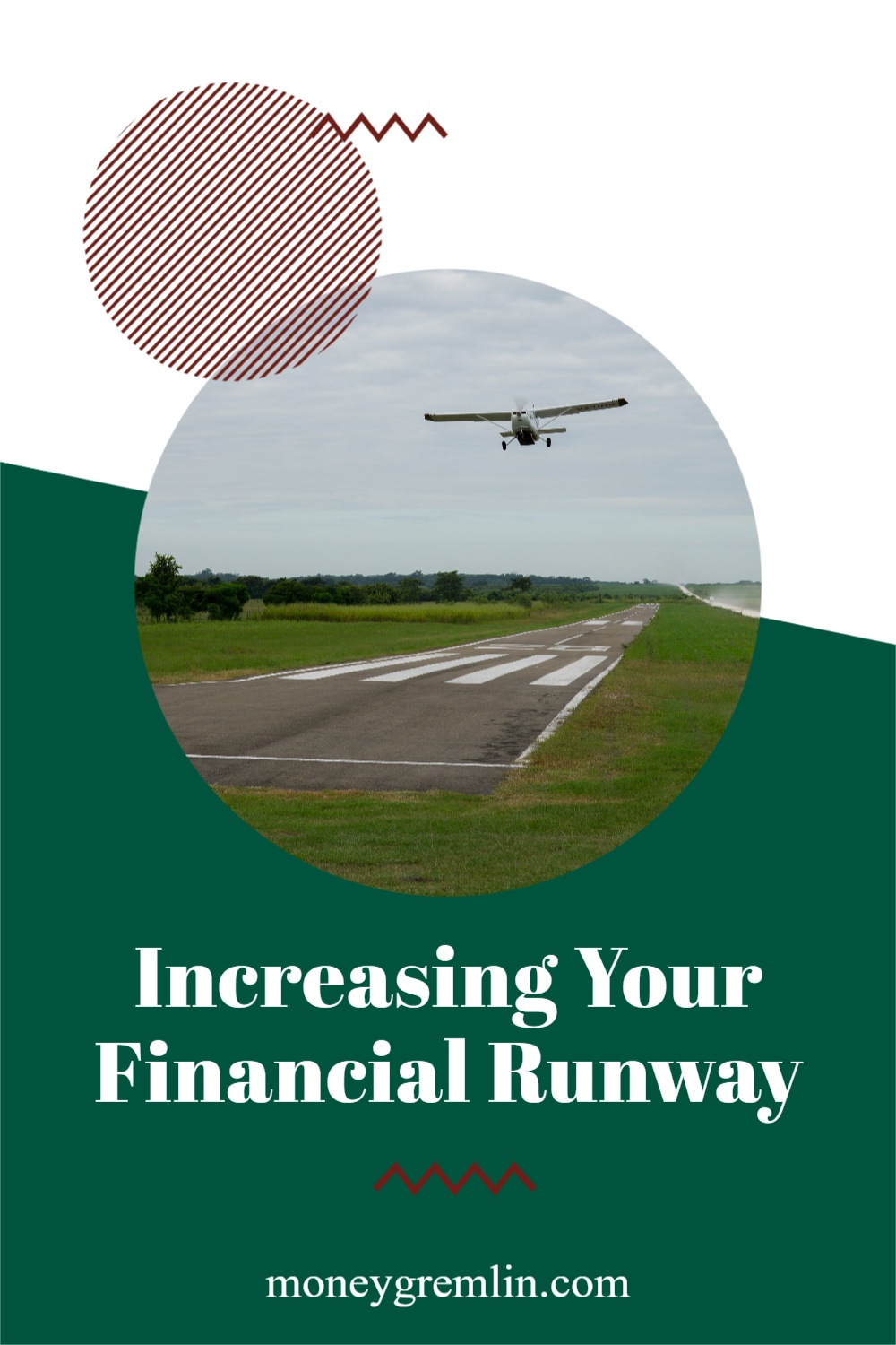 There's a frustrating aspect to getting out of debt: it takes time. The concept of increasing your financial runway helps me stay positive and motivated on the journey. via @moneygremlin