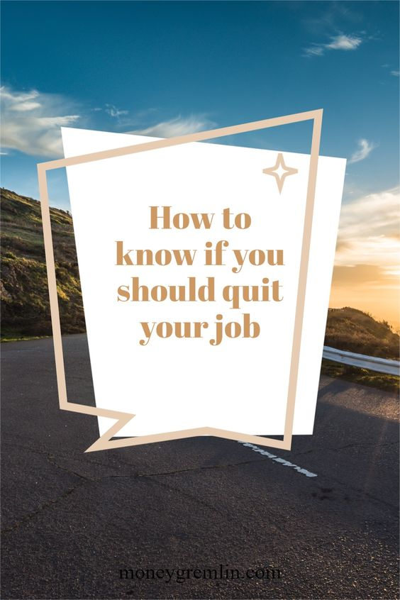A massive decision was made: I'm leaving my career. I hope this article can help someone who might be questioning their own path. via @moneygremlin