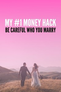 As women become more independent, men are becoming less economically attractive. My number one money hack is to be careful who you marry. Here's why...
