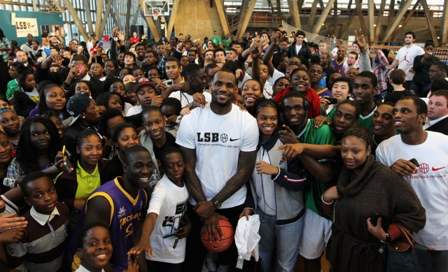 Image result for lebron foundation