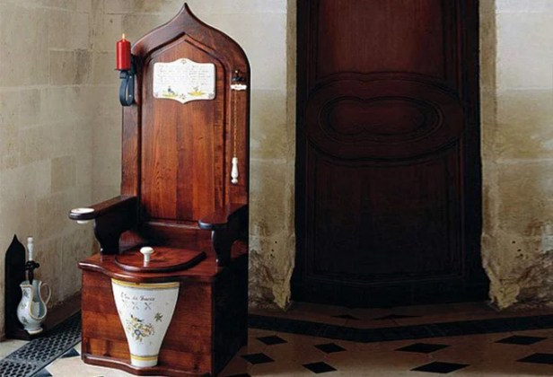 Image result for Herbeau Wooden Toilet Throne