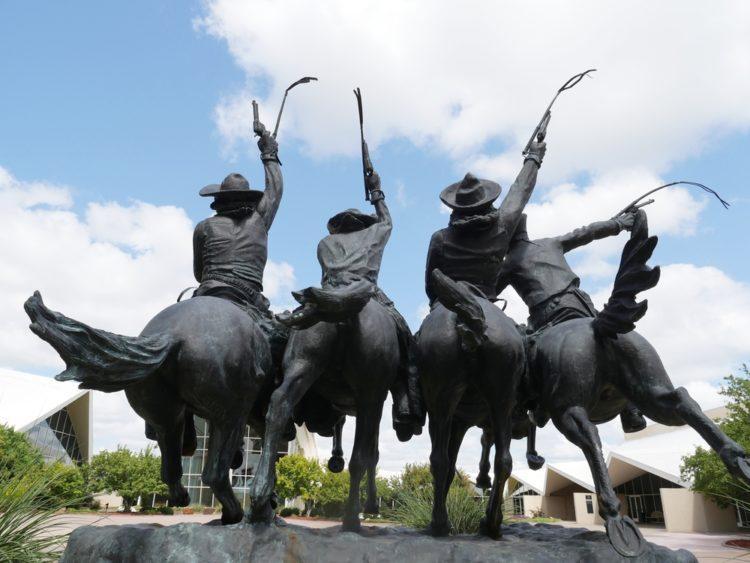 Second Amendment Cowboy landmark