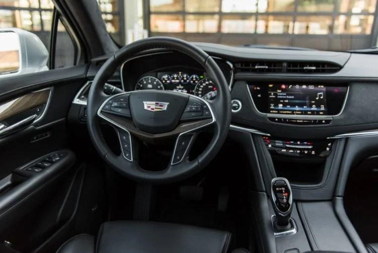 Interior of a Cadillac