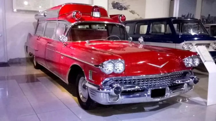 1958 Cadillac ambulance
