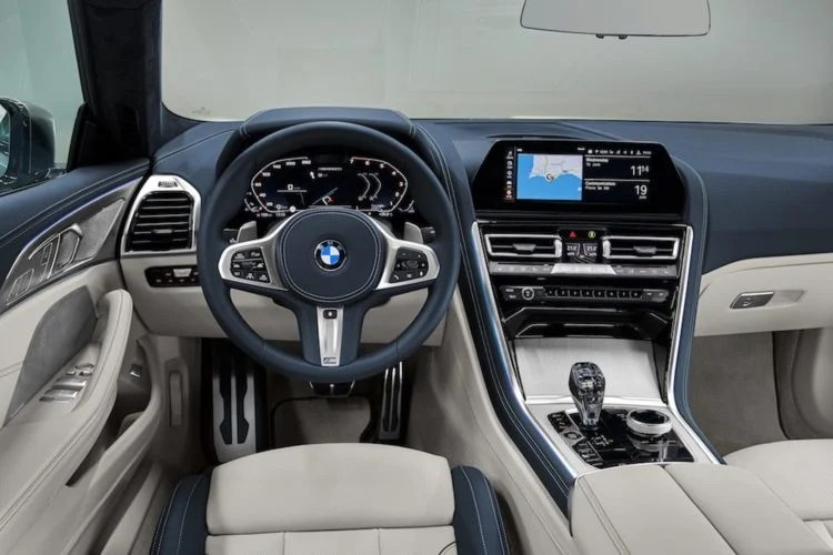 Interior of a BMW