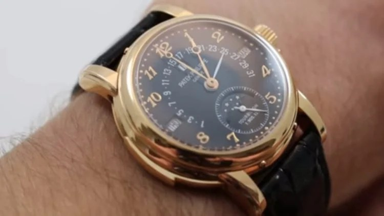 Patek Philippe Ref 5303 Minute Repeater Tourbillon in rose gold