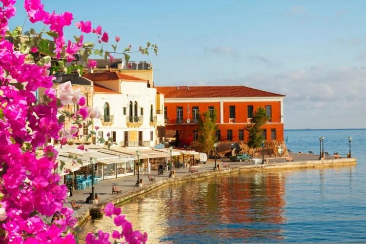 Venetian Harbor at Chania