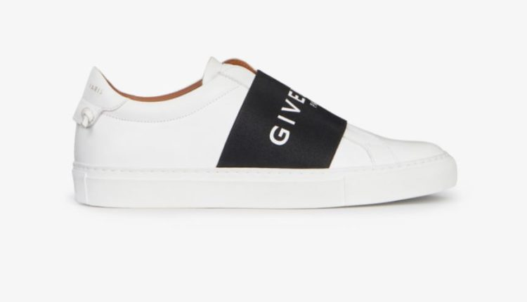 Givenchy Sneakers in Leather with Webbing