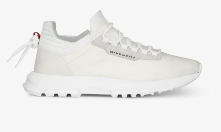 Givenchy Spectre Low Runner Sneakers in Perforated Leather