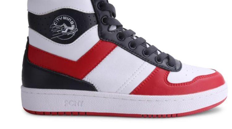Pony Men's City Wings High Leather Sneaker