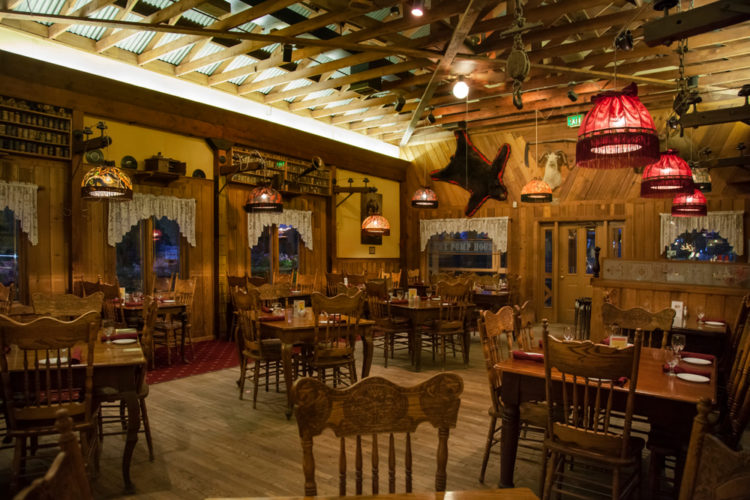 Try Traditional Alaskan Cuisine at the Pump House Restaurant & Saloon