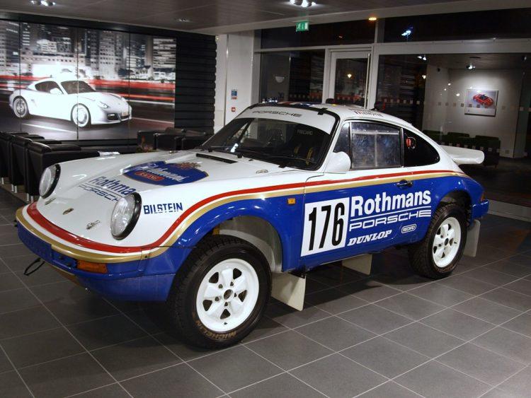 Porsche 911 Carrera SC 3.2 4x4 'Paris Dakar' (953)