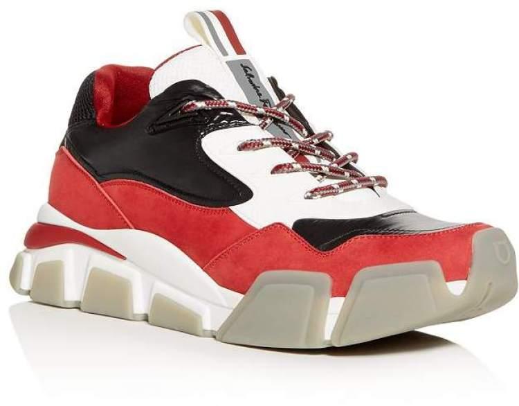Salvatore Ferragamo Booster Sneakers for Men