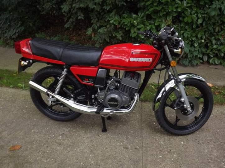1980 Suzuki GT250X7