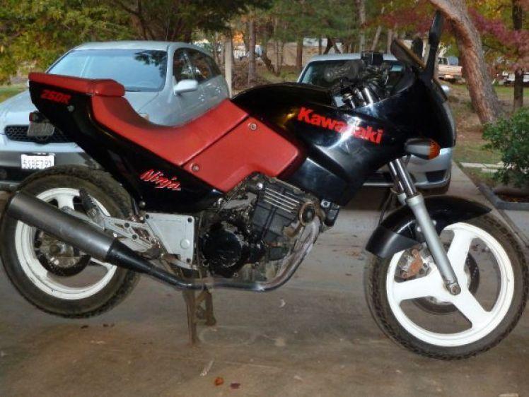 1986 Kawasaki Ninja 250R